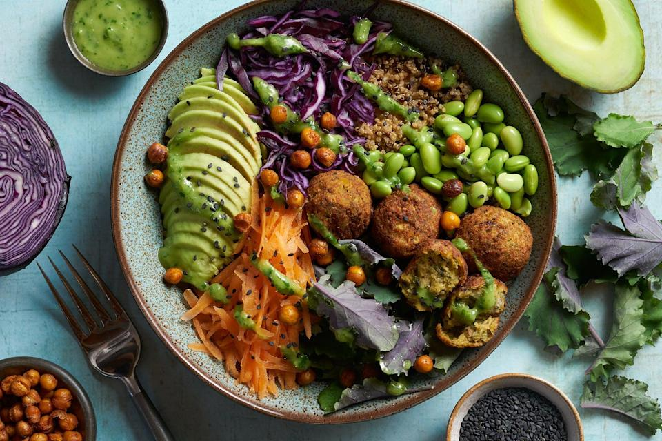 <p>Level up your lunchtime with this light and refreshing vegan buddha bowl</p> (Cauldron)