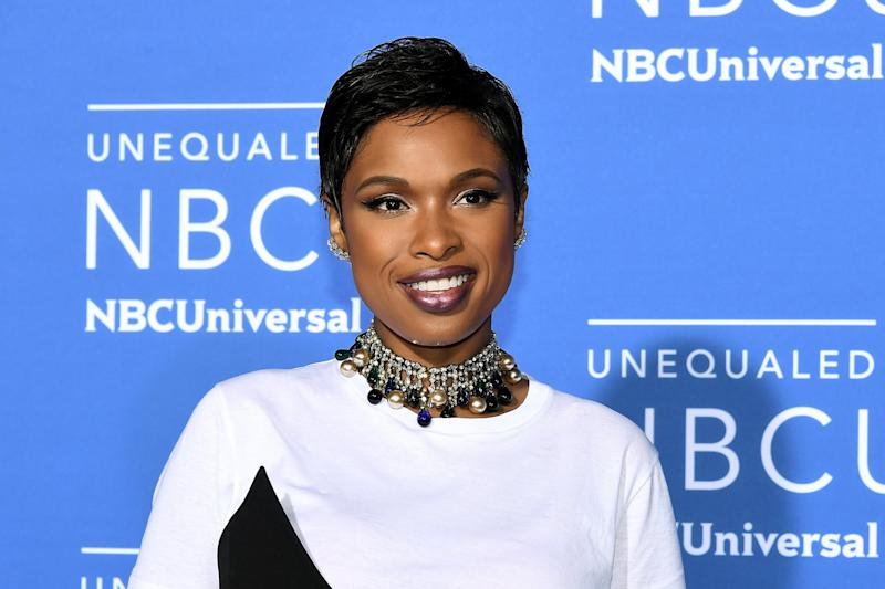 Ongoing battle: Jennifer Hudson opens up about her experiences with racism: Dia Dipasupil/Getty