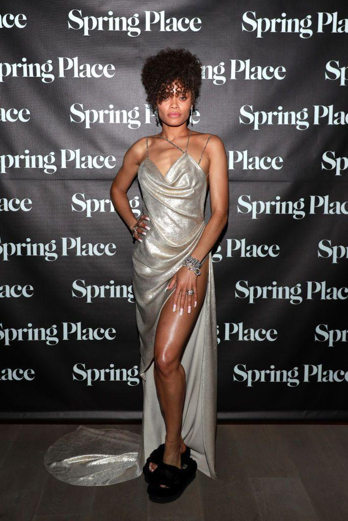 <p>The Best Actress nominee changed from one custom Vera Wang gown (gold) into a silver one (paired with slippers, which we appreciate) to attend an after party.</p>