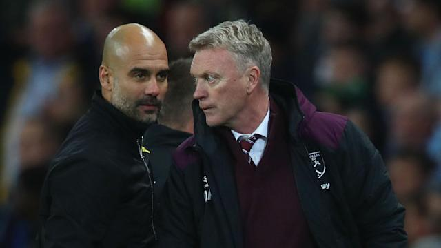 West Ham won praise from David Moyes for their battling defeat at Manchester City but teenager Declan Rice came in for some criticism.