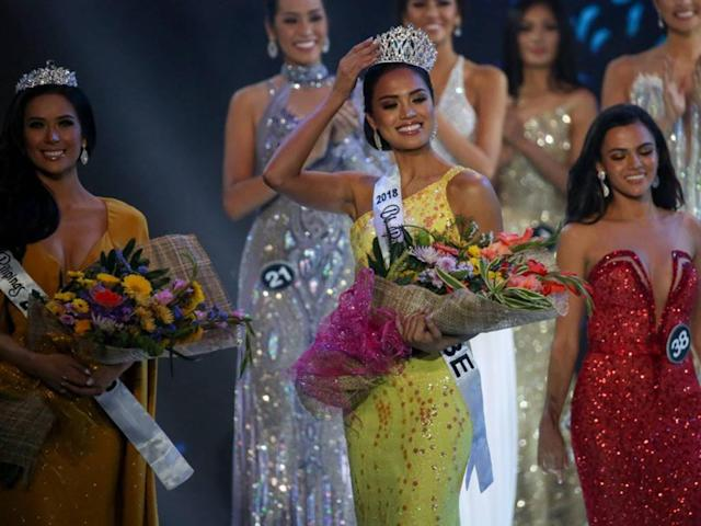The volleyball star wins Binibining Pilipinas-Globe at the pageant held recently