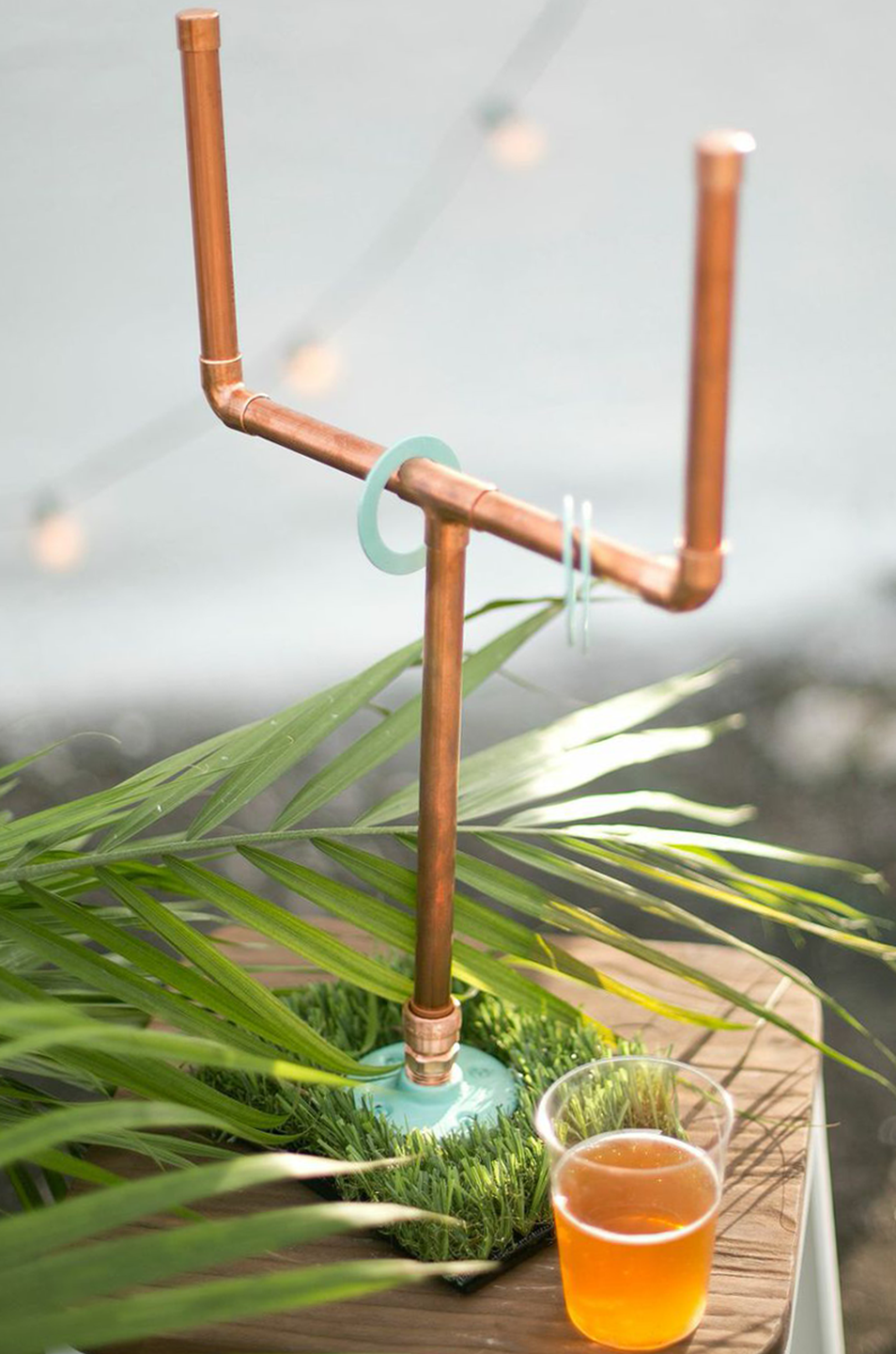 """<p>Make a football-themed ring toss with a DIY field goal post and washers. </p><p><strong>Get the tutorial at <a href=""""https://sugarandcloth.com/diy-copper-washers/"""" rel=""""nofollow noopener"""" target=""""_blank"""" data-ylk=""""slk:Sugar and Cloth"""" class=""""link rapid-noclick-resp"""">Sugar and Cloth</a>.</strong></p><p><strong><a class=""""link rapid-noclick-resp"""" href=""""https://www.amazon.com/Hillman-2226-Number-6-Stainless-50-Pack/dp/B00HYLXRIA?tag=syn-yahoo-20&ascsubtag=%5Bartid%7C10050.g.21095894%5Bsrc%7Cyahoo-us"""" rel=""""nofollow noopener"""" target=""""_blank"""" data-ylk=""""slk:SHOP METAL WASHERS"""">SHOP METAL WASHERS</a></strong></p>"""