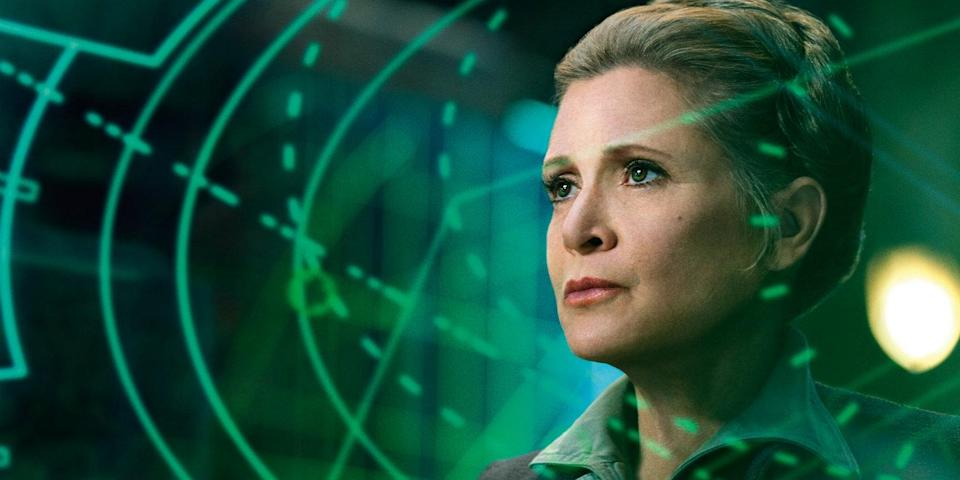 Carrie Fisher (Credit: Lucasfilm/Disney)