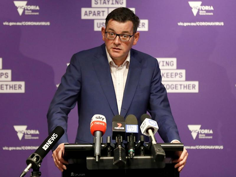 Victorian premier Daniel Andrews has announced an inquiry into the state hotel quarantine program, after it was confirmed the rise in COVID-19 cases through community transmission was linked to an infection control breach in the program: Getty Images