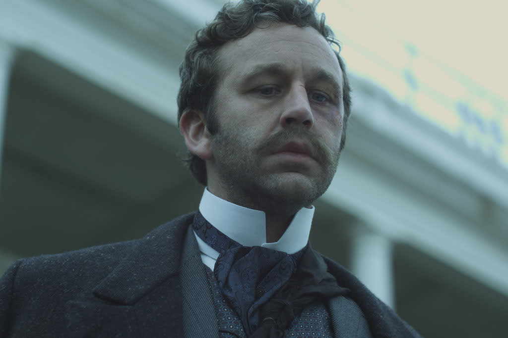"""Chris O'Dowd as William Rackham in """"The Crimson Petal and the White"""" on Encore."""
