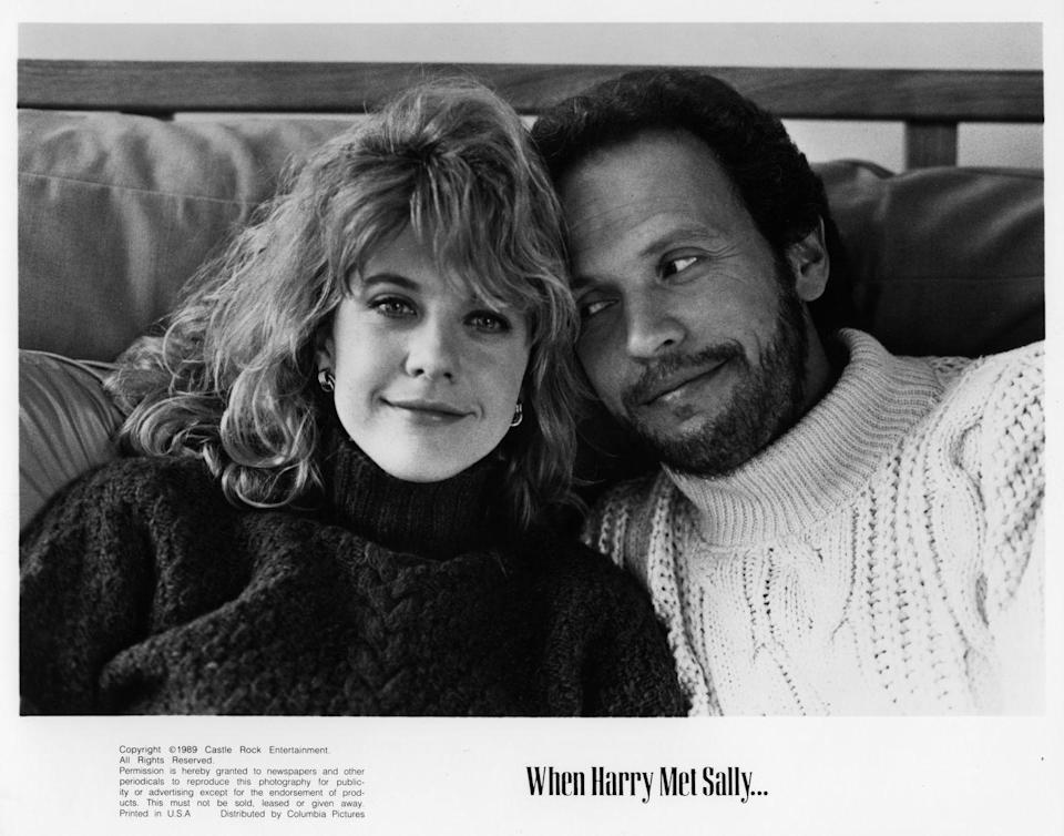 "<p>Watching two people fall in love over the course of several years is always gratifying, but Meg Ryan and Billy Crystal perfected the process in <em>When Harry Met Sall</em>y. Their climactic New Year's kiss is one of the all-time most romantic, slow-burn smooches of all time. Treat yourself to watching it while the ball drops. </p><p><a class=""link rapid-noclick-resp"" href=""https://www.amazon.com/dp/B001Q556QG?tag=syn-yahoo-20&ascsubtag=%5Bartid%7C10049.g.14505050%5Bsrc%7Cyahoo-us"" rel=""nofollow noopener"" target=""_blank"" data-ylk=""slk:Watch"">Watch</a></p>"