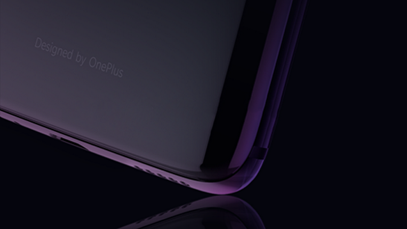Glass back on the OnePlus 6. Image: OnePlus.