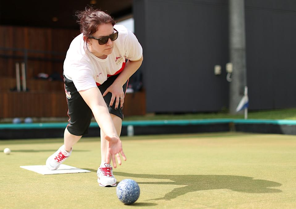 Honnor, 33, loved getting down to Kent's Bearsted & Thurnham Bowls Club on Bowls' Big Weekend