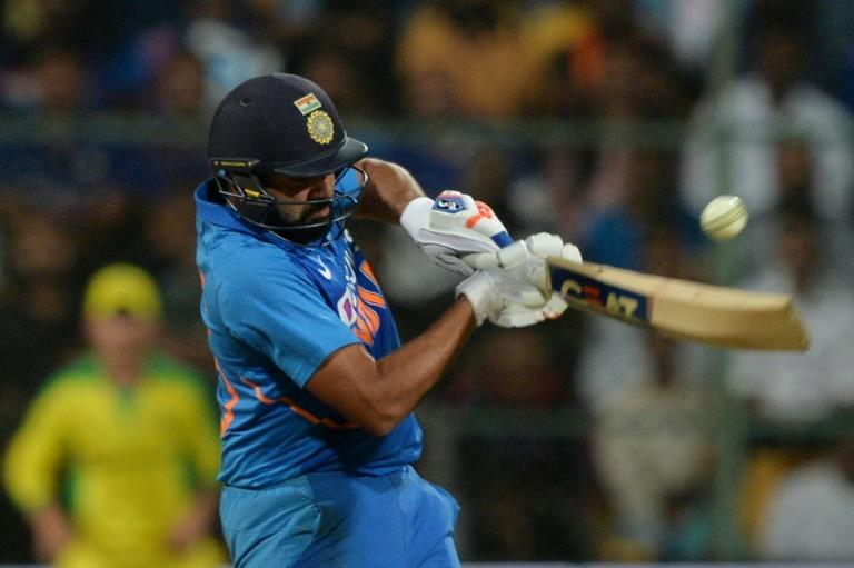 Rohit Sharma made 119 to help India to victory against Australia in the third ODI and a series win