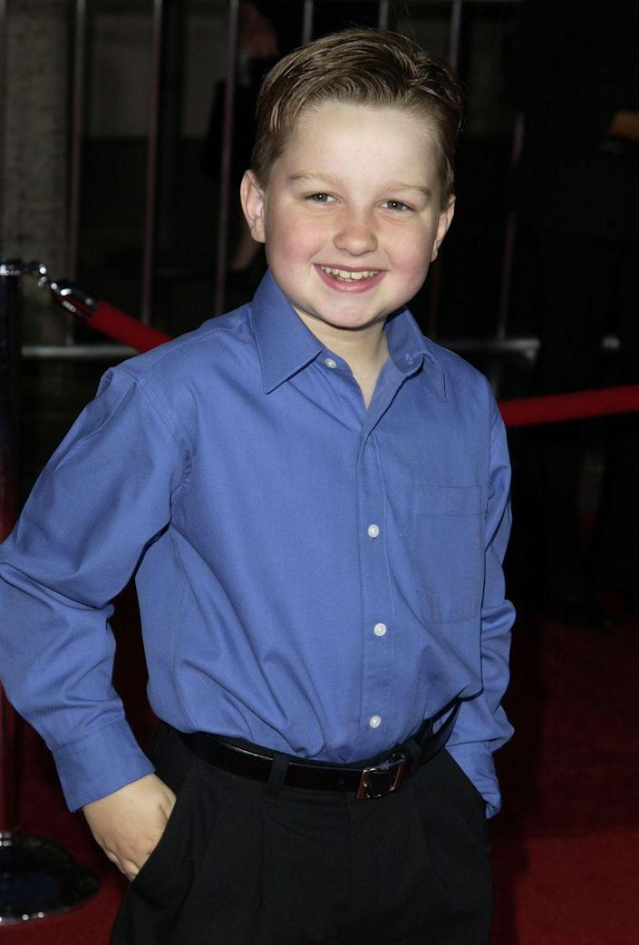 """<p>From 2003 until 2015, Angus T. Jones had a steady gig as Jake Harper on CBS's <em>Two and a Half Men</em>. Jones not only became one of the most well-known faces in television, but he also earned the title of <a href=""""https://www.tvovermind.com/men-angus-jones-officially-highest-paid-hollywood/#:~:text=According%20to%20TMZ%20and%20The,Jones'%20status%20as%20a%20minor."""" rel=""""nofollow noopener"""" target=""""_blank"""" data-ylk=""""slk:highest paid child actor"""" class=""""link rapid-noclick-resp"""">highest paid child actor</a> on TV.</p>"""