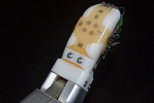 artificial skin robot sense of touch