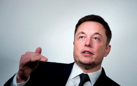 Musk later deleted the tweets calling Unsworth a pedo - Credit: BRENDAN SMIALOWSKI/AFP