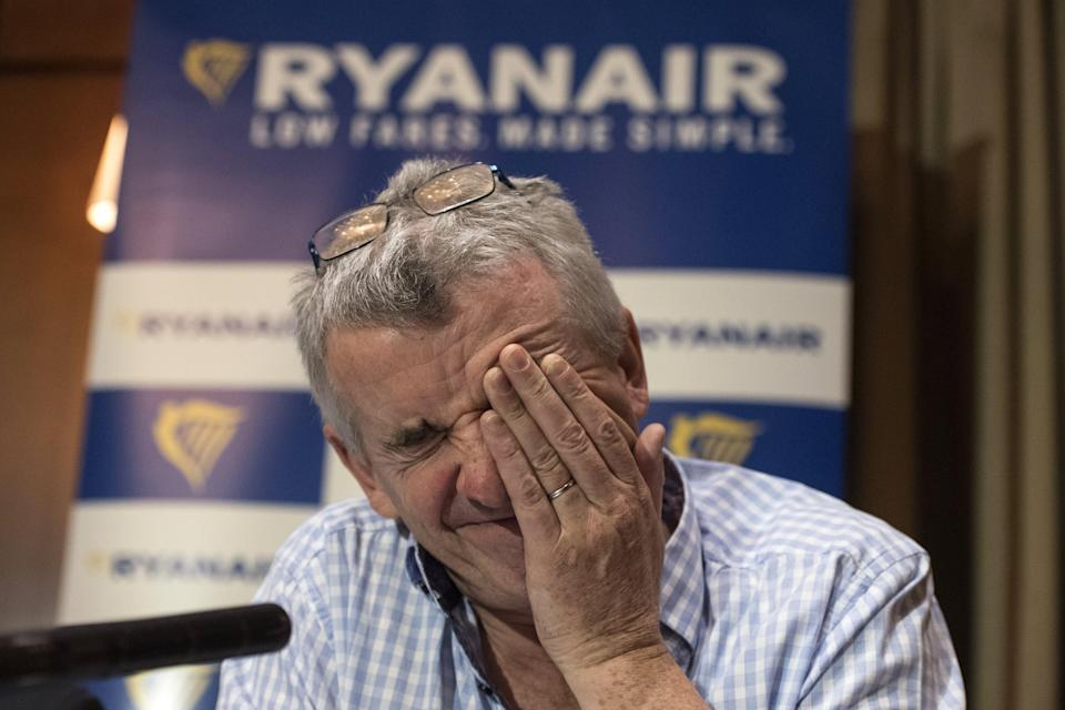 Ryanair CEO Michael O'Leary says flights between Britain and Europe could stop unless a deal is reached by the end of 2018 (EFE/WILL OLIVER)