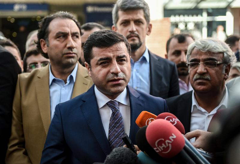 Turkish opposition leader Selahattin Demirtas -- the co- chairman of the pro-Kurdish Peoples' Democracy Party -- says he survived an assassination attempt in the southeastern city of Diyarbakir