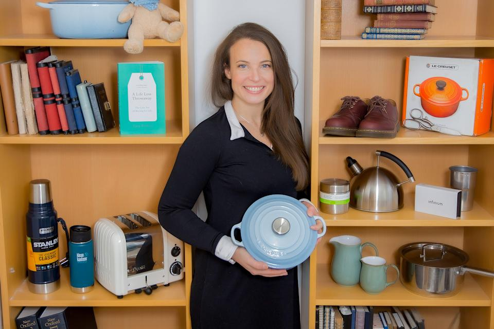 Tara Button's moment of inspiration came when she received a Le Creuset pot as a 30th birthday gift - the century-old cookware brand is known for offering lifetime guarantees on its products (BuyMeOnce)