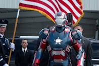 "Iron Patriot in Marvel Studios' ""Iron Man 3"" - 2013"