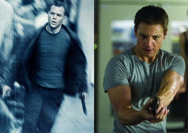 "Jason Bourne – After being fished out of the Mediterranean with no memory of who he is or where he comes from, Jason Bourne (Matt Damon) soon discovers that he is a secret agent of some renown. Brainwashed and expertly trained in driving, combat, and killing, Bourne now just wants to be left alone. Unfortunately for him, his CIA handlers don't want to give up such a valuable asset so easily. Bourne's successor, Aaron Cross (Jeremy Renner), is the focus of ""The Bourne Legacy."""