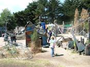 """<div class=""""caption-credit""""> Photo by: City of Berkeley</div><div class=""""caption-title"""">Adventure Playground, Berkeley CA</div>For families who are more """"Mad Max"""" than """"Madeline,"""" the Adventure Playground recalls a far away time before personal injury lawyers were invented. Saw, hammer and paint your own play structure."""