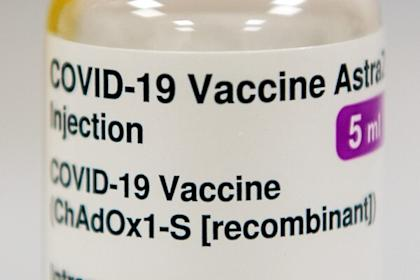 The vectored vaccine by Oxford-AstraZeneca has an efficacy rate of at least 70 per cent. Photo: Reuters