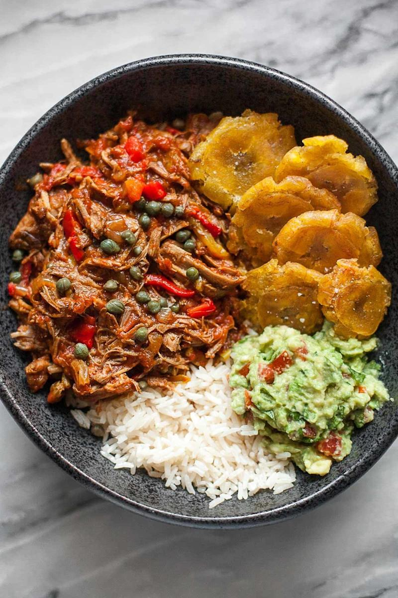 "<strong>Get the <a href=""http://acalculatedwhisk.com/pressure-cooker-ropa-vieja/"" target=""_blank"">Pressure Cooker Ropa Vieja</a>&nbsp;recipe from A Calculated Whisk</strong>"
