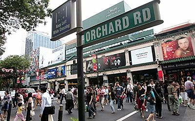 A man takes 85 upskirt videos in one day along Orchard Road. (AFP)