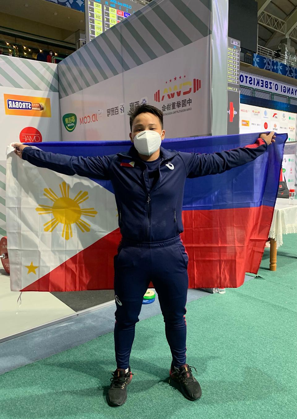 Filipino weightlifter Elreen Ando is set to represent the Philippines in the Tokyo Olympics. (Photo: Elreen Ando/Facebook)