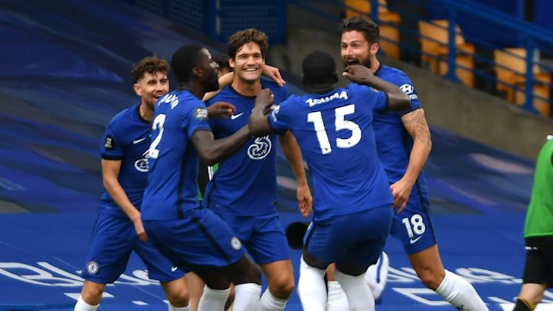 Chelsea 2-0 Wolves: Mount stunner as Blues seal Champions League place