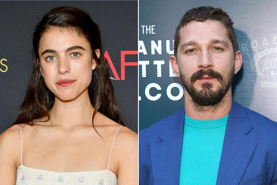 """<p>The pair, who were <a href=""""https://people.com/movies/shia-labeouf-margaret-qualley-hold-hands-on-post-christmas-hike-amid-fka-twigs-lawsuit/"""" rel=""""nofollow noopener"""" target=""""_blank"""" data-ylk=""""slk:spotted together numerous times"""" class=""""link rapid-noclick-resp"""">spotted together numerous times</a> but never publicly announced their relationship, <a href=""""https://people.com/movies/shia-labeouf-margaret-qualley-split-exclusive/"""" rel=""""nofollow noopener"""" target=""""_blank"""" data-ylk=""""slk:have split"""" class=""""link rapid-noclick-resp"""">have split</a>, a source told PEOPLE on Jan. 7. News of their split came as the <i>Transformers</i> actor faced allegations of abuse from his ex-girlfriend, singer <a href=""""https://people.com/tag/fka-twigs/"""" rel=""""nofollow noopener"""" target=""""_blank"""" data-ylk=""""slk:FKA Twigs"""" class=""""link rapid-noclick-resp"""">FKA Twigs</a>.</p> <p>""""They broke up on Saturday. They're just in different places in their lives,"""" the source said of the pair.</p> <p>Another source told PEOPLE the <i>Once Upon a Time... in Hollywood</i> actress was aware of the """"backlash"""" she received for seeing LaBeouf amid the lawsuit filed by singer FKA twigs, born Tahliah Debrett Barnett, accusing him of sexually and physically assaulting and battering her.</p> <p>A source previously told PEOPLE that LaBeouf, 34, and Qualley, 26, first started seeing each other after starring in a NSFW music video, <i>Love Me Like You Hate Me,</i> together in the fall. </p>"""