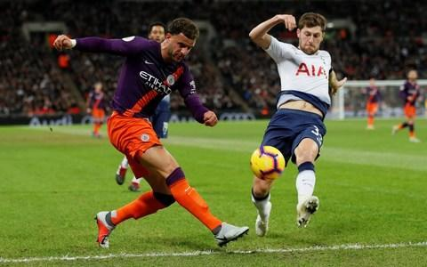 Ben Davies -Tottenham vs Manchester City, player ratings: Who looked like champions and who played like also-rans? - Credit: REUTERS