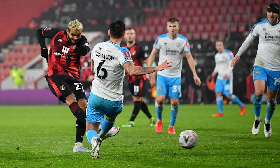 Josh King grabs Bournemouth's winner sending them into the fifth round to meet Burnley