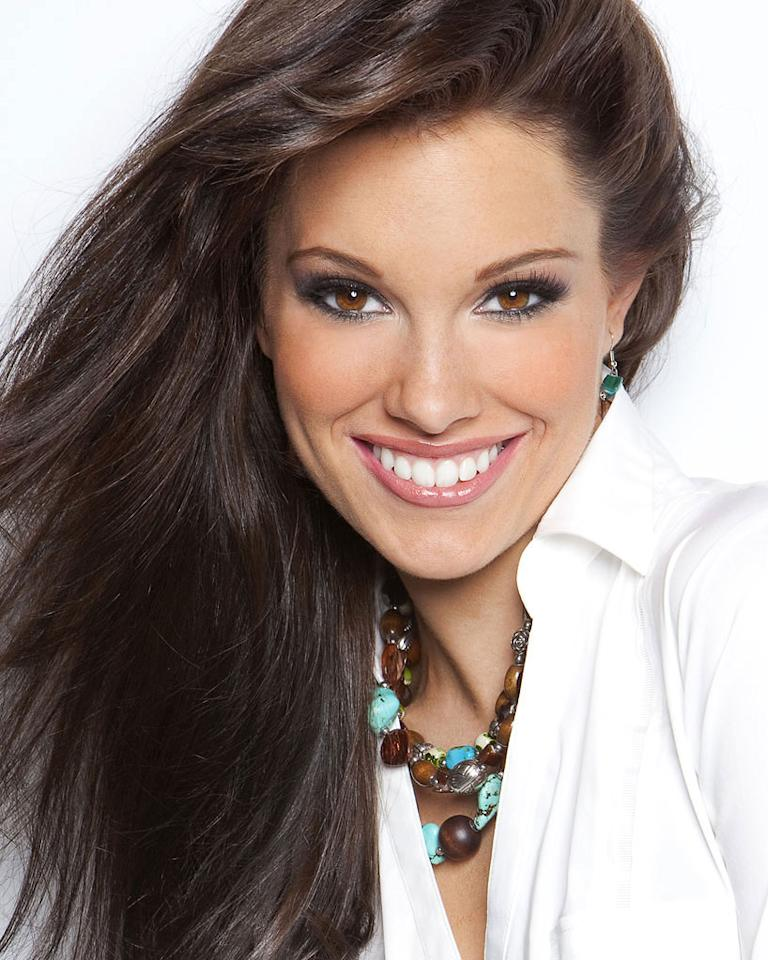 """Miss Georgia, Michaela Lackey is a contestant in the """"<a href=""""/2012-miss-america-pageant/show/48165"""">2012 Miss America Pageant</a>."""""""