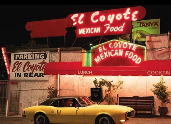 "<p>This Mexican restaurant first opened in 1931 in La Brea and has since relocated to Beverly Boulevard. If you're unaware, let's just say that the Tate murders are a important part of the plot in this movie. And this is where the victims of the Tate Murders ate their last meal on August 8, 1969.</p><p>According to the <em><a href=""https://www.latimes.com/entertainment-arts/movies/story/2019-07-25/where-to-see-the-la-sites-of-once-upon-a-time-in-hollywood?utm_source=feedburner&utm_medium=feed&utm_campaign=Feed%3A+latimes%2Fentertainment+%28Entertainment+News%29"" target=""_blank"">Los Angeles Times</a></em>, Tarantino shot this scene at the same exact booth the victims sat. </p>"