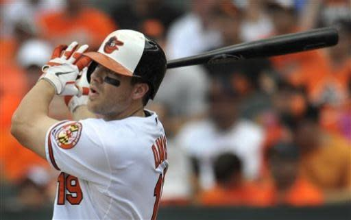 Davis hits 37th HR as Orioles defeat Blue Jays 7-4