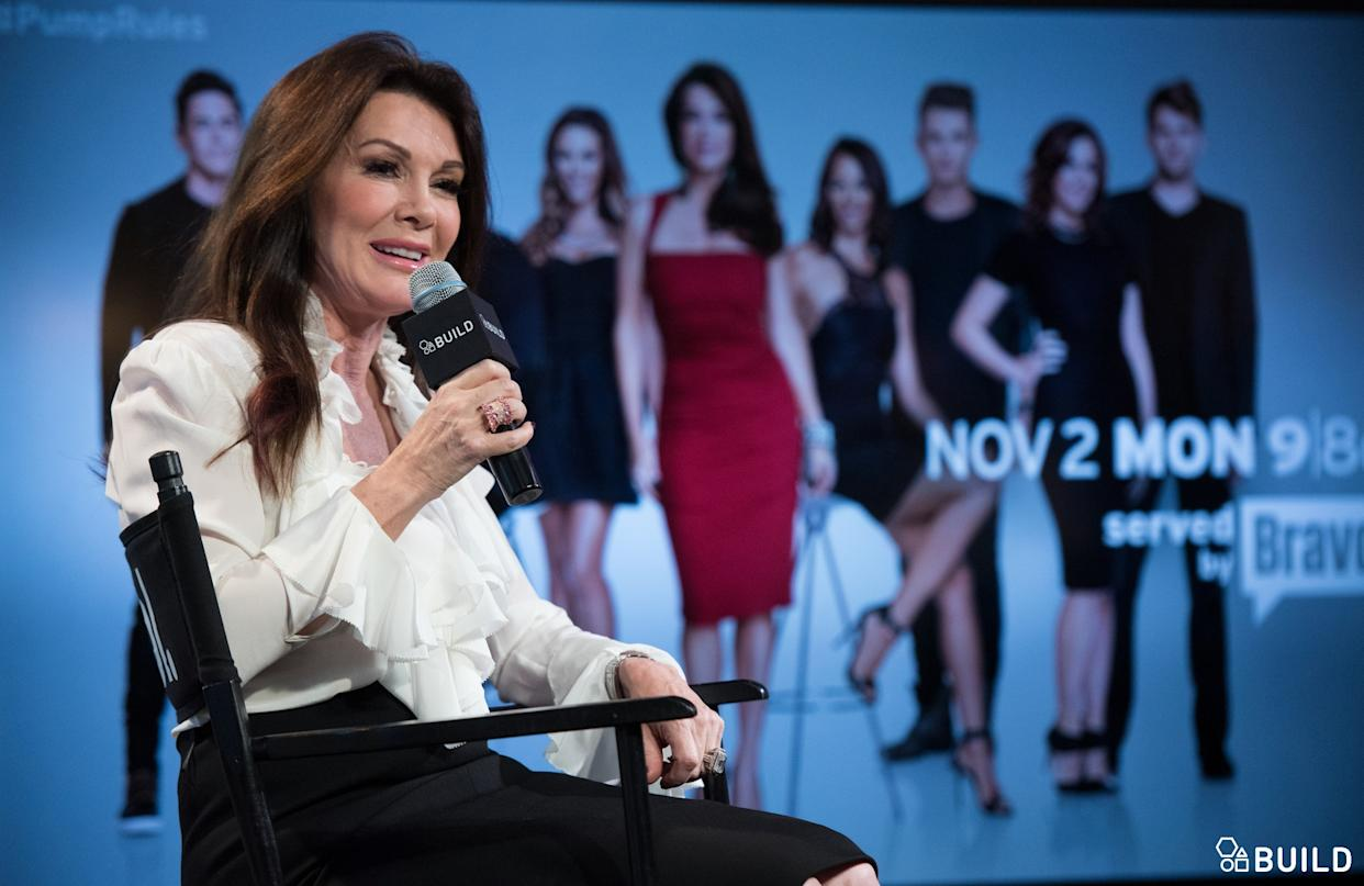 Lisa Vanderpump visits AOL Hq for Build on January 13, 2016 in New York. Photos by Noam Galai