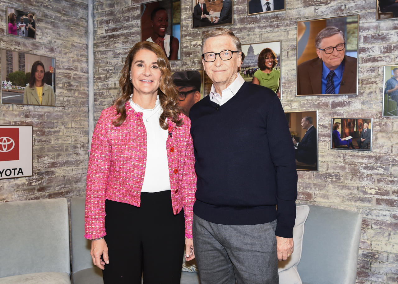 The Bill and Melinda Gates Foundation pledged to give $100 million to help 'strengthen detection, isolation and treatment efforts; protect at-risk populations; and develop vaccines, treatments and diagnostics'.