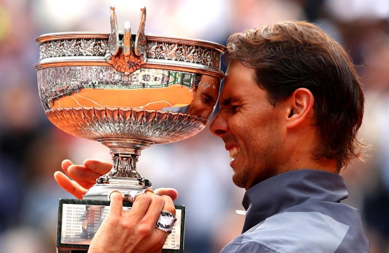 Nadal triumphed at Roland Garros for a 12th time last year (Getty)