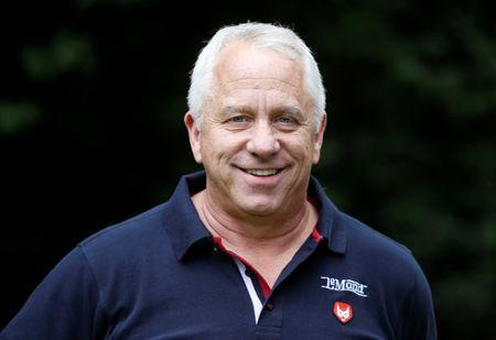 Cycling - The 104th Tour de France cycling race - Greg LeMond daily chat with Reuters - Duesseldorf, Germany - June 30, 2017 - Three-time Tour de France winner and Eurosport pundit Greg LeMond poses for Reuters. REUTERS/Christian Hartmann