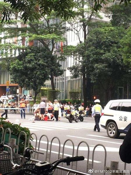Hong Kong civil servant among 13 injured in Guangzhou as car ploughs into pedestrians