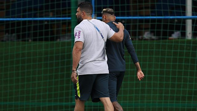 Neymar has been hampered by an ankle injury that he sustained during Brazil's 1-1 draw with Switzerland. Will this impact Brazil's chances of advancing past the group stage.