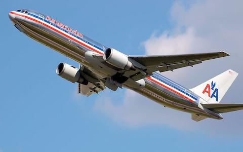 American Airlines Boeing 767 aircraft leaving London Heathrow - Credit: Wikimedia Commons