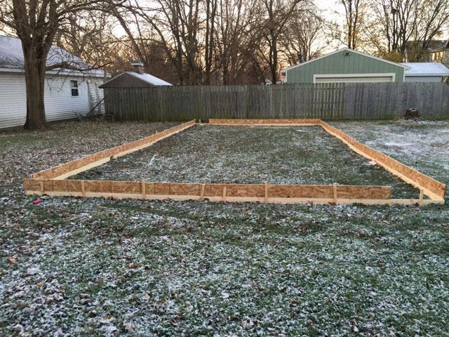 How to Make Your Own DIY Ice Rink for $150