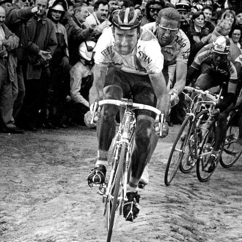 <span>Kelly won all but one monument – the Tour of Flanders – during a career that ended with two editions each at Milan-Sanremo, Paris-Roubaix and Liège-Bastogne-Liège and three Giri di Lombardia</span> <span>Credit: REX FEATURES </span>
