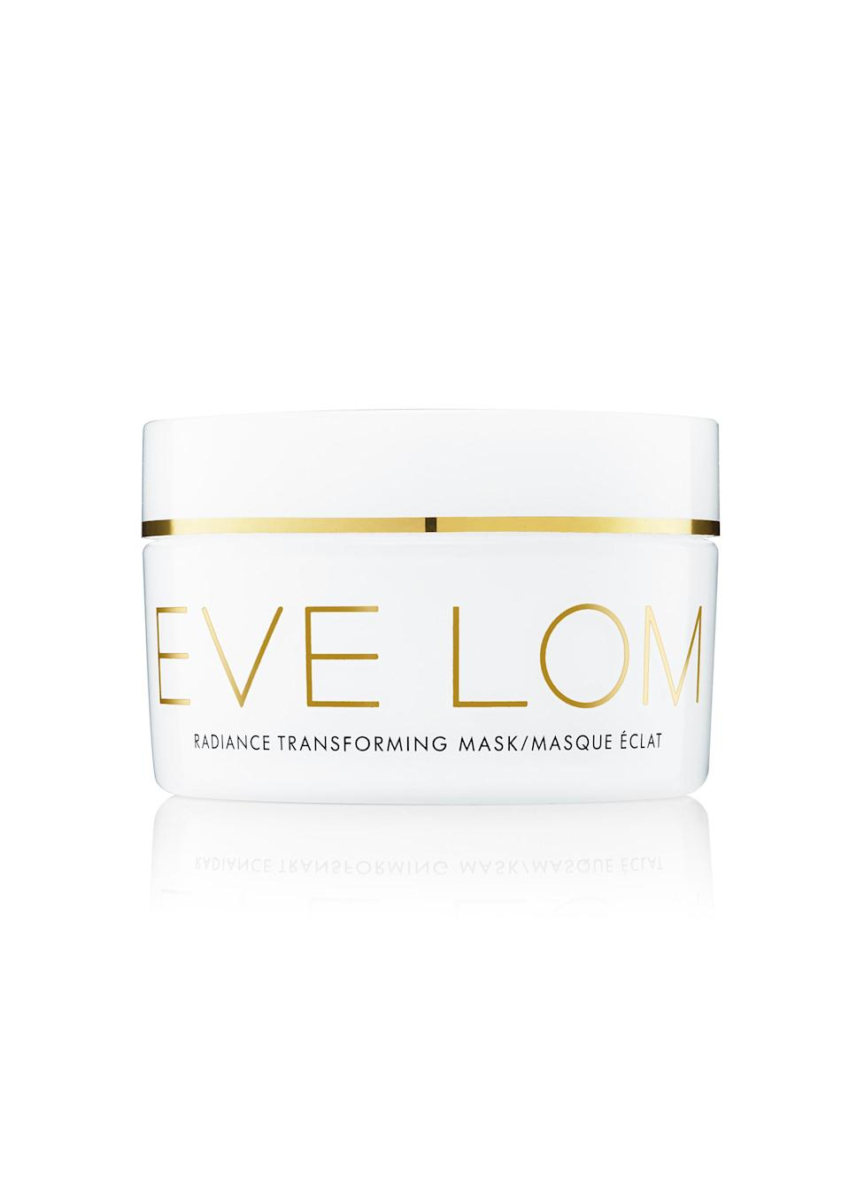 <p>New from EVE LOM, this semi-solid mask is just what your skin needs at the end of a long week. Enriched with a Lime Pearl Caviar formula, it gently exfoliates dirt and grime leaving a glowing complexion. For an intense treatment, you can leave the mask on overnight and give your skin a much-needed hydration boost. </p>