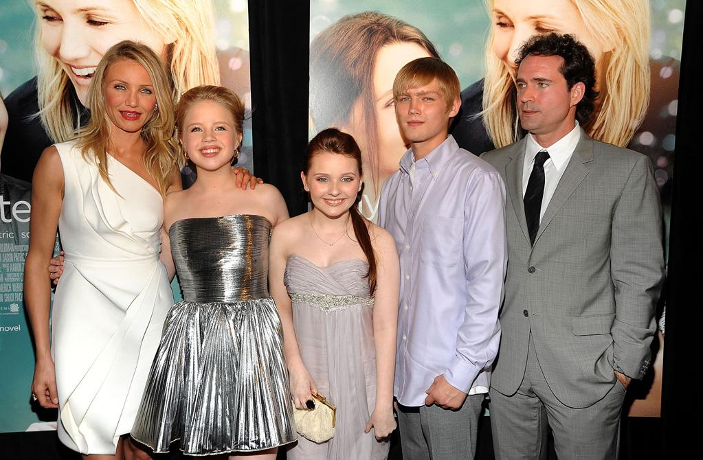 """<a href=""""http://movies.yahoo.com/movie/contributor/1800020297"""">Cameron Diaz</a>, <a href=""""http://movies.yahoo.com/movie/contributor/1808445123"""">Sofia Vassilieva</a>, <a href=""""http://movies.yahoo.com/movie/contributor/1807733519"""">Abigail Breslin</a>, Evan Ellinson and <a href=""""http://movies.yahoo.com/movie/contributor/1800033188"""">Jason Patric</a> at the New York City premiere of <a href=""""http://movies.yahoo.com/movie/1810003155/info"""">My Sister's Keeper</a> - 06/24/2009"""
