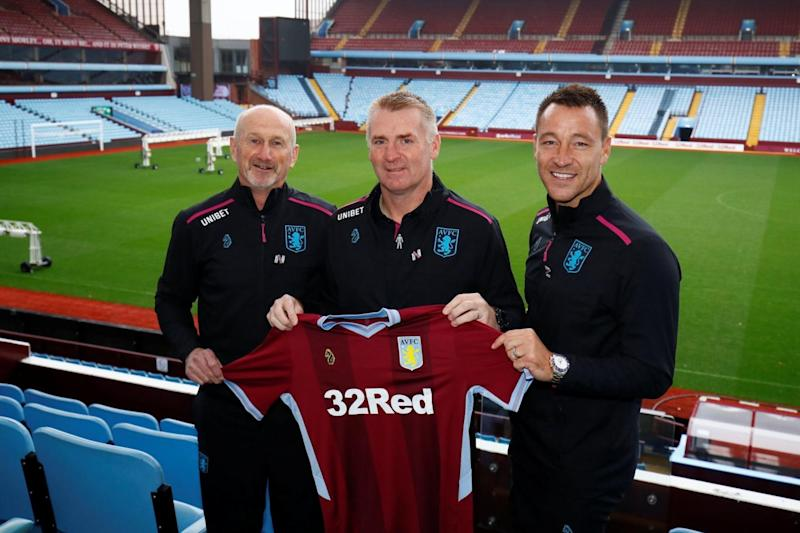 Dean Smith left this week to take the Villa job. (Action Images via Reuters)