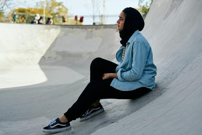 """Geraldine Viswanathan stars as """"Hala,"""" a coming-of-age story drawn from the experiences of director Minhal Baig."""