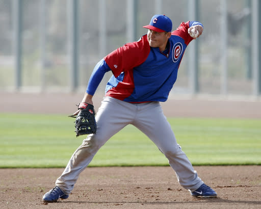 Cubs eager for breakout season from 1B Rizzo