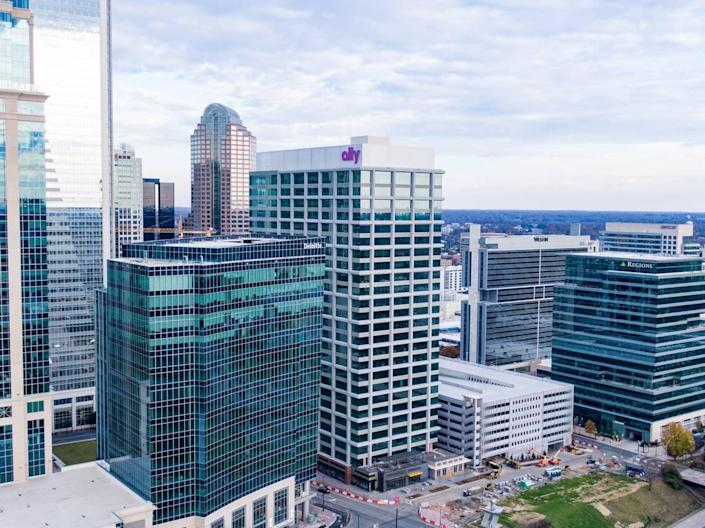 Earlier this summer, Ally moved in as the anchor tenant of a 26-story tower on Tryon Street. It's one of multiple ways the bank is working to grow its Charlotte presence.