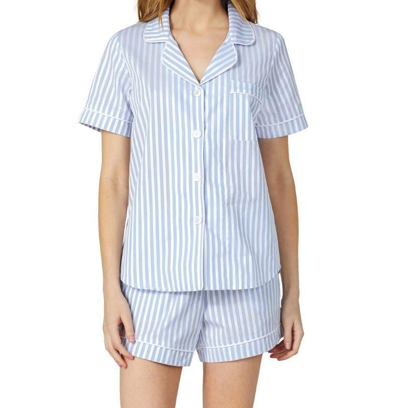 """<p><strong>Bedhead Pajamas</strong></p><p>nordstrom.com</p><p><strong>$114.00</strong></p><p><a href=""""https://go.redirectingat.com?id=74968X1596630&url=https%3A%2F%2Fwww.nordstrom.com%2Fs%2Fbedhead-pajamas-3d-stripe-organic-cotton-sateen-short-pajamas%2F5507786&sref=https%3A%2F%2Fwww.esquire.com%2Flifestyle%2Fg2121%2Fmothers-day-gift-guide%2F"""" rel=""""nofollow noopener"""" target=""""_blank"""" data-ylk=""""slk:Buy"""" class=""""link rapid-noclick-resp"""">Buy</a></p><p>Breezy enough for the warmer months, but nicely tailored to still look sharp—Bedhead sleepwear is really damn good.</p>"""