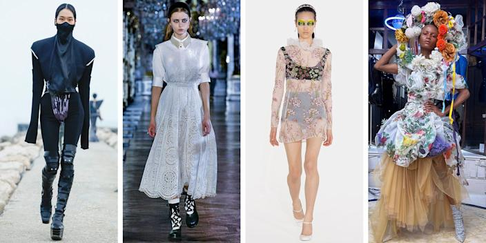<p>A year after the onset of a global pandemic, designers across London, Milan, and Paris are redefining the fashion show format, while simultaneously innovating new wardrobes for our new world. Click through to see ELLE's favorite highlights from the fall-winter 2021 collections—including winter wonderlands at Miu Miu and Louis Vuitton.</p><p><em>Make sure to check back as we update our gallery with the latest socially-distanced shows, virtual presentations, and more.</em></p>